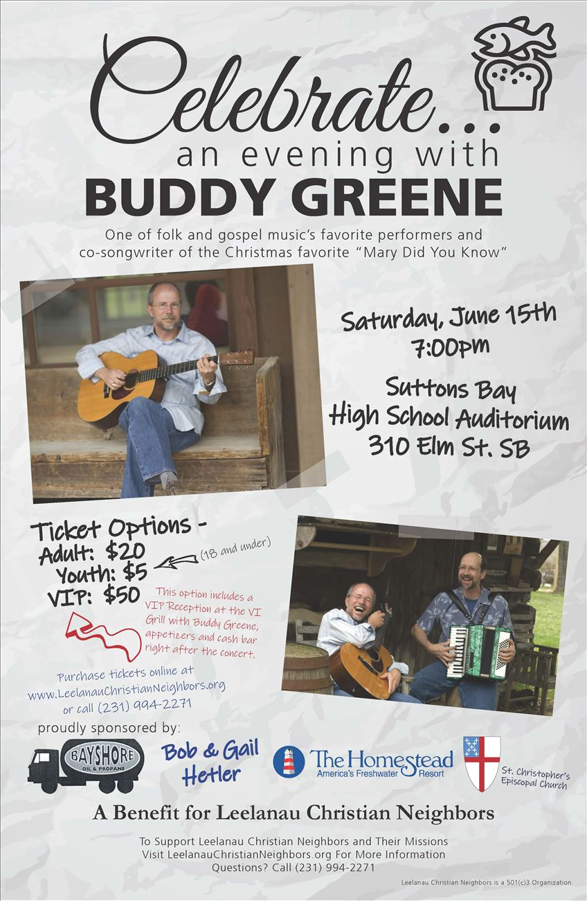 Celebrate an Evening With Buddy Greene