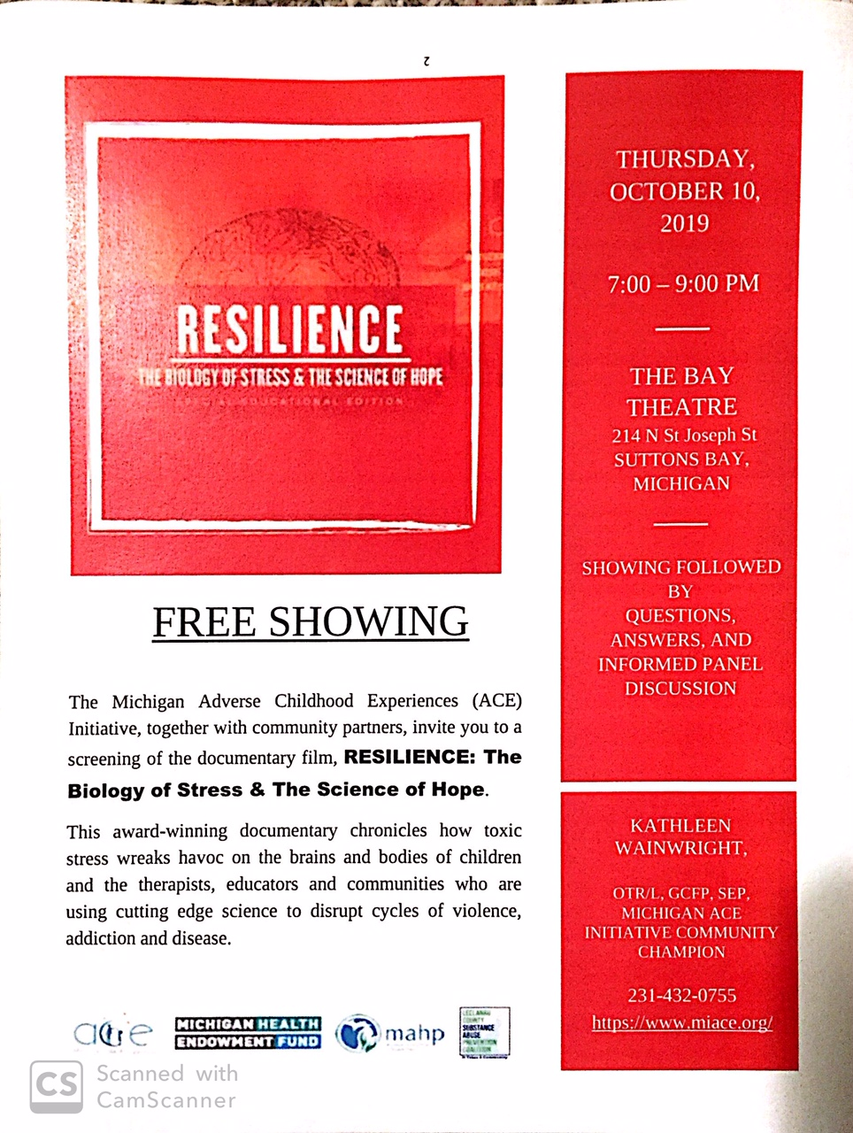 Resilience the documentary